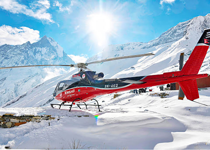 annapurna base camp helicopter tour, helicopter tour to annapurna base camp, annapurna base camp heli tour