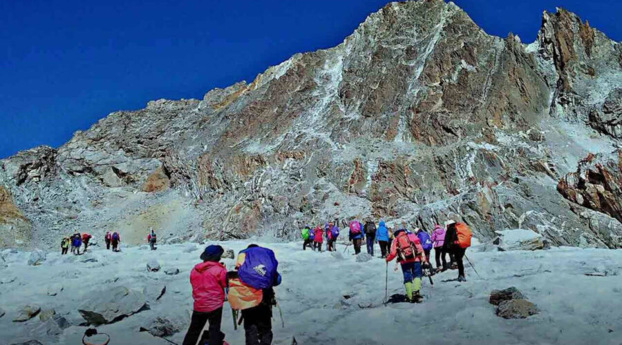 everest high pass trek, high pass trek, everest three high pass trek, three high pass trek cost